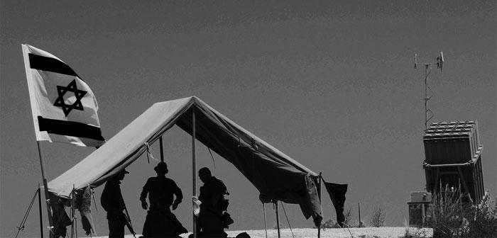 DF guarding Sderot's Iron Dome