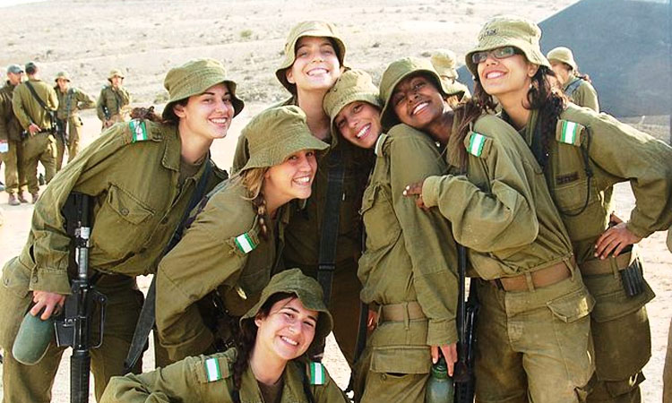 Young IDF Female Recruits