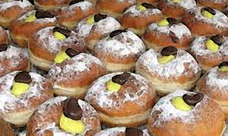 Sufganiyot the Israeli Hanukkah Donut