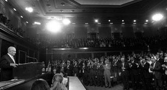 Israel's PM Netanyahu addresses Congress - (Wiki photo)