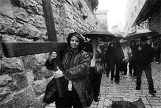 Old City Jerusalem - Orthodox believer - Photo by Ouria Tadmor