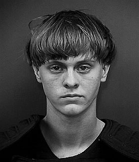 Mugshot of Roof taken by the Charleston County Sheriff's Office, June 18, 2015