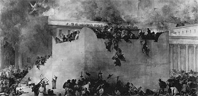 Destruction of Second Temple  by Francesco Hayez - Wiki Photo