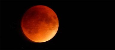 Blood Moon over Jerusalem