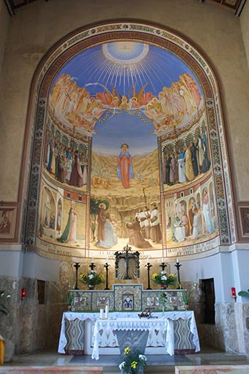 Inside Ein Karem - The Church of Visitation