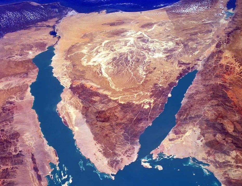 sinai-satellite-image