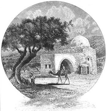 A magnet to pilgrims, the covered passage leading into the tomb was opened by Moses Montefiore in 1841.