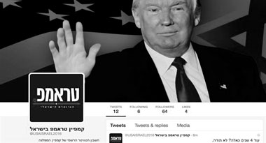 President Trump and Israel