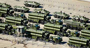 Russian anti-air weapons