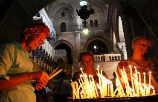 Church Holy Sepulcher Jerusalem