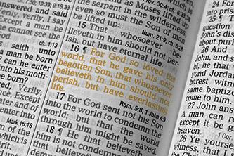 John 3:16 healed