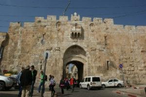 Old City Jerusalem - Lion Gate
