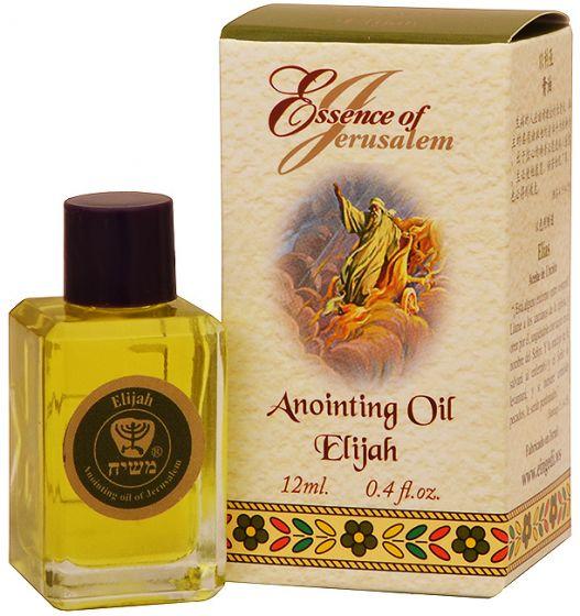 'Essence of Jerusalem' Anointing Oil - Elijah Prayer Oil - 12ml