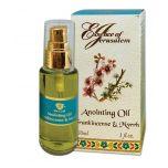 'Essence of Jerusalem' Anointing Oil - Frankincense & Myrrh Prayer Oil - 30ml