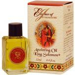 'Essence of Jerusalem' Anointing Oil - King Solomon Prayer Oil - 12ml
