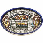 Armenian Ceramic Round Tabgha Dish