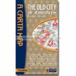 Carta's Map of the Old City of Jerusalem