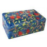 Yair Emanuel Hand-Painted Jewelry Box - Pomegranates (Medium)
