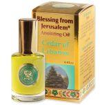 Blessing from Jerusalem ® 'Cedar of Lebanon' Anointing Oil - Gold Line Prayer Oil - 12ml