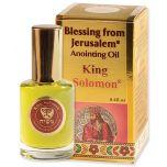 Blessing from Jerusalem ® 'King Solomon' Anointing Oil - Gold Line Prayer Oil - 12ml