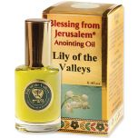 Blessing from Jerusalem ® 'Lily of the Valleys' Anointing Oil - Gold Line Prayer Oil - 12ml