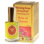 Blessing from Jerusalem ® 'Rose of Sharon' Anointing Oil - Gold Line Prayer Oil - 12ml