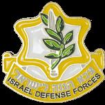IDF Israel Defense Forces 'Tzahal' Insignia Lapel Pin Badge