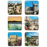 Jerusalem Photo Coasters - Set of Six