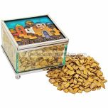 Incense from Jerusalem in Decorated Box - Gold Holy Land Flowers