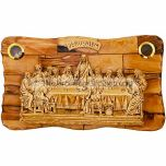 The Last Supper - Olive Wood Plaque