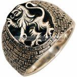 Lion of Judah Ring - Sterling Silver