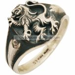 Lion of Judah Sterling Silver Ring