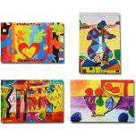 Makor HaTikva 'Abstract Artists Collection' Card Set