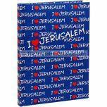 Notepad - I Love Jerusalem