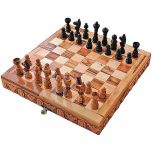 Chess Set and Board - Olive Wood