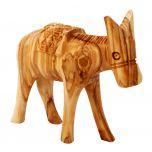 Olive Wood Donkey - Made in Bethlehem
