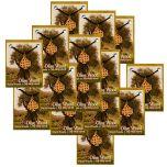 Pack of 50 Units Olive Wood 'Jerusalem Cross' Pendants with Necklace
