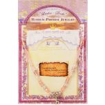 Hebrew Promise Jewelry 'I Am My Beloved's' Song of Songs 6:3 Necklace - Pink