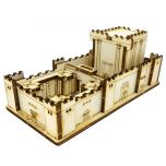 The Second Temple | DIY Wood 3D Puzzle | Educational Self Assembly Craft | Made in the Holy Land