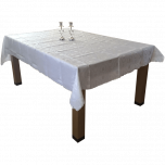 Tablecloth - Embroidered L'Kavod Shabbat