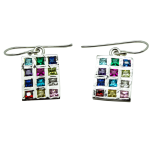 Hoshen Breastplate Stud Earrings - Goldfill