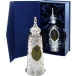 TORAH Anointing Oil - Light of Jerusalem - 27ml - Made in Israel - Silver