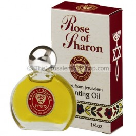 Anointing Oil - Enriched with Rose of Sharon