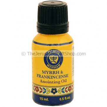 15ml Holy Land Anointing Oil - Frankincense and Myrrh