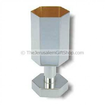 Hexagonal Kiddush Cup