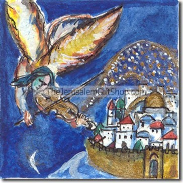 Angel Above Jerusalem