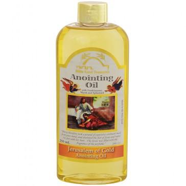'Jerusalem of Gold' Anointing Oil 250ml - Frankincense Myrrh and Spikenard