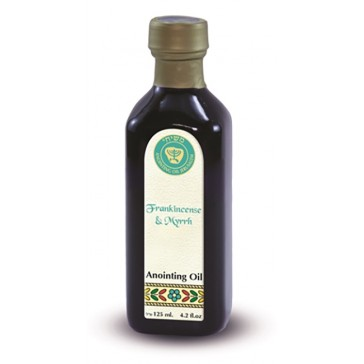 Frankincense and Myrrh - Holy Anointing Oil 125 ml - Made in the Holy Land