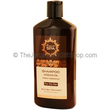 Argan Oil Shampoo - Dead Sea Treatment