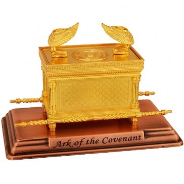 The Ark of the Covenant - Gold Plated